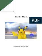 Pikachu MU Thread