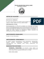 Historia Clinica de Paciente Con MB P.a.T