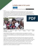Dismantling the Mafia State in Sri Lanka