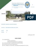 Dossier V ciclo unprg Geografía