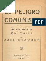 El Peligro Comunista y Su cia en Chile
