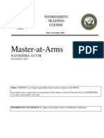 Master-at-Arms NAVEDTRA 14137B