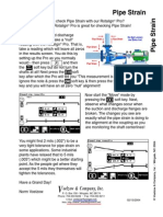 Pipe Stress/Strain Using Rotolign Pro