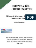 Resistencia en Sitio (Madurez)
