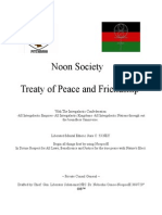 Noocratic Society Treaty of Peace and Friendship