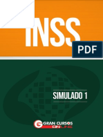 Inss Simulado Capa