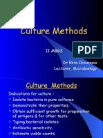 1B. Culture Methods
