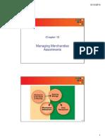-Ch#12 Retail Assortment Planning