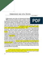 Urbanizam Kao Stil Života Luis Wirth