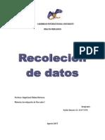 Tecnicas de Recoleccion de Informacion Keylin Romero