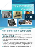 The Five Generations of Computer
