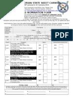 2016 Victorian State Skeet Carnival Pre Nomination Form