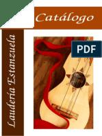 Catalogo 2008 Jaranas e instrumentos Jarochos