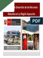 Ayacucho Mine  proyectos mineros