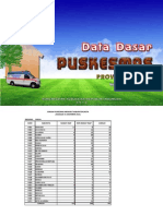 Data Dasar Puskesmas di Papua