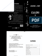 Culori Si Numere - Louise L. Hay