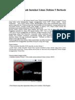 IlmuKomputer Langkah Langkah Instalasi Debian 5 Text