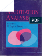 Negotiation Analysis