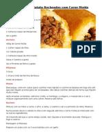 Bolinhos de Batata Recheados Com Carne Moída