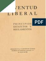 Juventud Libera Principios Estatutos y Reglamentos