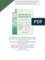 Biomass and Bioenergy 2012
