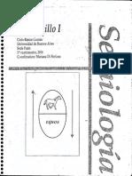 Semiologia - Cuadernillo I