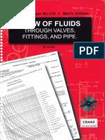 Crane TP-410 Flow of Fluids