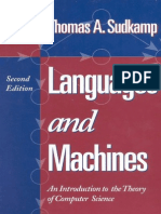 Languages and Machines (Thomas A. Sudkamp)