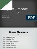 Export Import EXIM.pptx