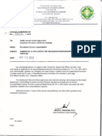 2013-DM No. 0319-Submission of Application for Reclassification-Conversion of Positions