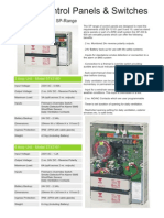 Easivent SP Controls Range Data 02