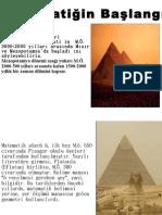 Mısır ve Mezopotamyada Matemaitk