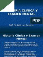 PSIQhistoriaclinicayexamenmental.ppt
