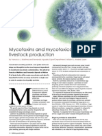 Mycotoxins and mycotoxicosis in livestock production