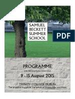 SBSS Full Programme 2015