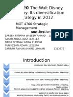 disney strategic business units