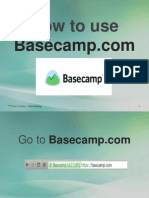 Alfredo_Fuentes_How to Use Basecamp
