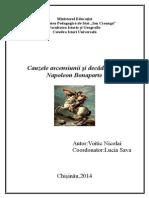 Cauzele Ascensiunii Și Decăderii Imperiului Lui Napoleon Bonaparte