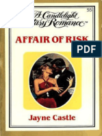 Jayne Ann Krentz (as Jayne Castle) [Candlelight Ecstasy 55] - Affair of Risk