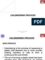 7. Calendering Process