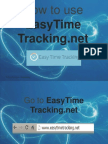 Alfredo_Fuentes_How to Use EasyTimeTracking