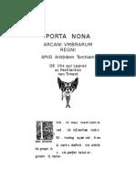 Nine Gates do the Kingdom of Shadows - Porta Nona