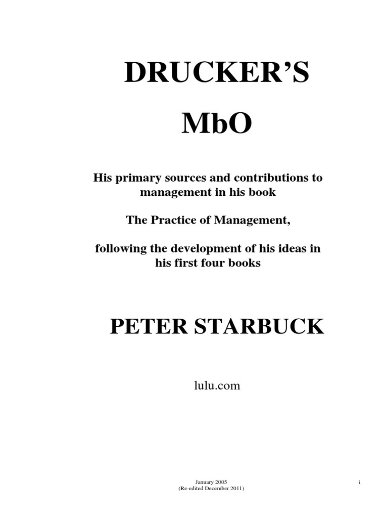 Drucker thesis austria fandeluxe Choice Image