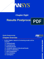 ANSYS  Postprocessing