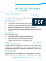 Refrideration & Air Conditioning Book content