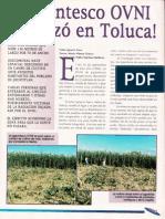 ¡Gigantesco Ovni Aterrizó en Toluca! R-080 Nº042 - Reporte Ovni - Vicufo2
