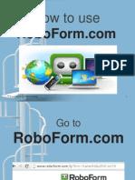 Alfredo_Fuentes_How to Use Roboform