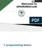 Basics of Embedded C