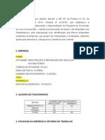 PPRA Oficina Mecanica