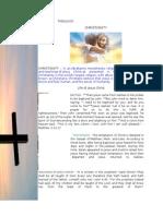 CHRISTIANITY (Theology)